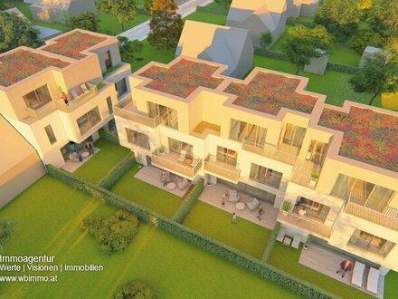 Exklusives und modernes Wohnbauprojekt mit 3 Reihenhäusern und 2 Doppelhaushälften!