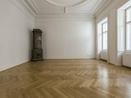 Herrschaftliche, wunderschön sanierte 6-Zimmer Wohnung in 1040 Wien zu vermieten!