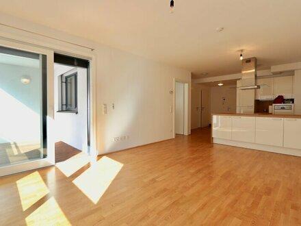 EUM - Naschmarktnähe! Zwei-Zimmer-Neubau mit Loggia und Garage im 3. Liftstock