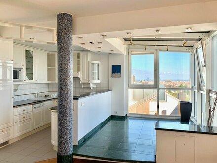 Neubau mit Traumblick! 3-Zimmer-Wohnung in Grünruhelage mit Terrasse