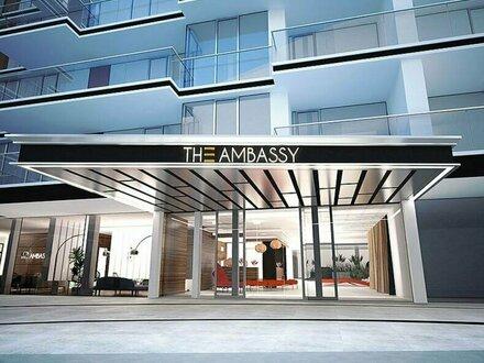 sehr exklusive 2 Zimmern Wohnung The Ambassy Parkside Living / Beatrixgasse zu mieten