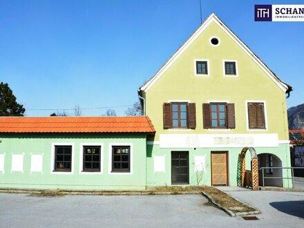 GESCHÄFTSLOKAL, BÜRO oder PRAXIS mit anschließendem Wohnhaus + Entwicklungspotential vorhanden!