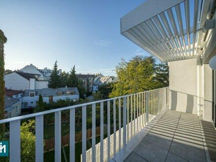 ERSTBEZUG! zentrale Neubau-Mietwohnung mit Außenfläche in Ruhelage