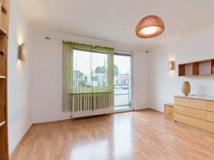 Nette 1-Zimmer Loggiawohnung mit Grünblick im 23. Bezirk!