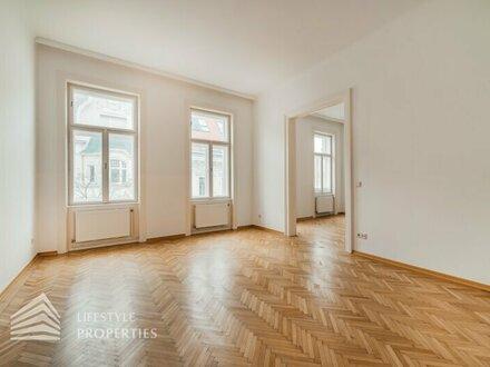 Großzügig geschnittene 2,5 Zimmer Altbau-Wohnung, Nähe Gentzgasse