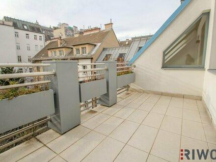 Lichterfüllte 2 Zimmerwohnung mit Terrasse in unmittelbarer Nähe zum Schloss Belvedere
