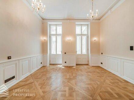 Luxuriöse 3-Zimmer Altbauwohnung Nähe Stephansplatz