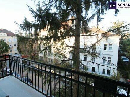 Erstbezug! Tolle Raumaufteilung + 2 Balkone + Schöner Altbauflair + Grünlage! Worauf warten Sie noch?