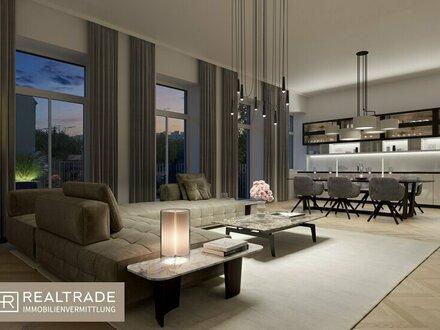 Elegantes kernsaniertes Altbau-Büro mit Terrasse