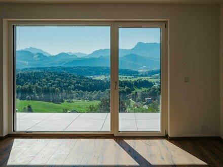 Adnet / Wimberg: 4-Zimmer-Wohnung mit Bergpanorama