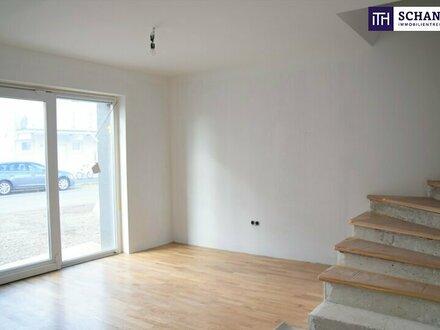 ITH #gemütlich Neu erbautes Reihenhaus mit Teilkeller-Bereich + Garten + riesen Terrasse in sonniger Familien-Lage in 8041…