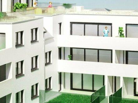 INpurkersdorf - LOGGIA mit 3-Zimmern in bester AUSFÜHRUNG in den GRÜNEN INNENHOF ausgerichtet - Top 14