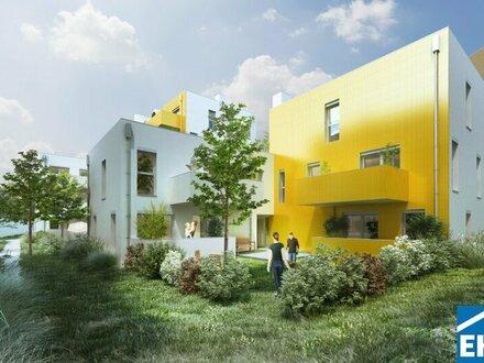 Wohlfühlfaktor massives Ziegelhaus – die Sonnenblumenhäuser im Wildgarten