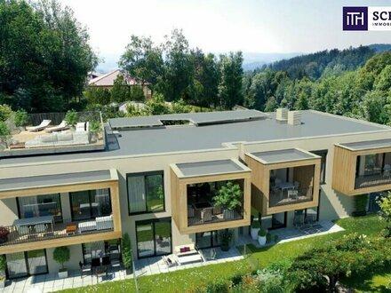 Oase der Ruhe! Provisionsfrei! Neubau Eigentumswohnung mit Garten am Schöckl! Graz!
