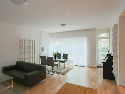 möblierte Wohnung mit Garten in ruhiger Lage Nähe Badeteich Hirschstetten