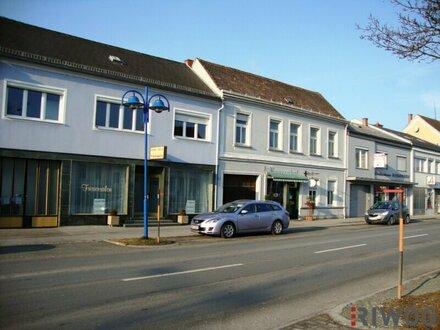 ++ Wohn-Geschäftsgebäude mit zusätzlicher Bebauungsmöglichkeit