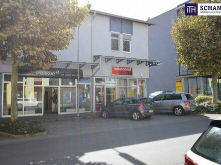 TOP HOCHFREQUENZLAGE + TOP SICHTBARKEIT! Gewerbeobjekt mit rund 5 % Rendite in Deutschlandsberg!