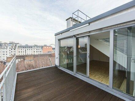 Traumhafte DG-Wohnung mit Weitblick und Terrasse in 1020 Wien zu vermieten!