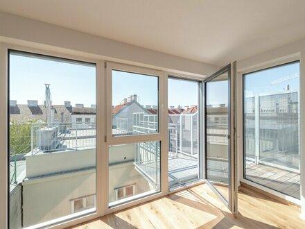 ** - 10% PROVISIONSRABATT ** Hochwertige 3-Zimmer DG-Maisonette, tolle Aufteilung! fantastische Dachterrasse!!