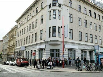 TOP-Geschäftslokal auf der Mariahilfer Straße***unbefristet***tolle Lage***hohe Frequenz