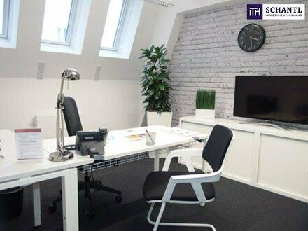 Gelegenheit: 105 m² modernste, servicierte Bürolösung mit 5 privaten Büros in 1010 Wien!
