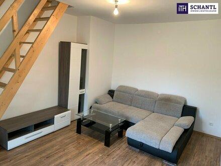 ITH - HERRLICHE Maisonettewohnung + Riesiger Balkon in S/W Ausrichtung + TOP RAUMKONZEPT!