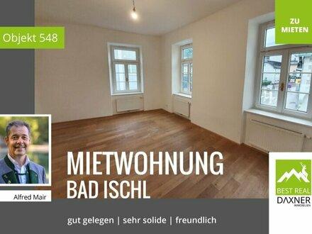 Solide 3-Zimmer Mietwohnung in Bad Ischler Zentrumslage