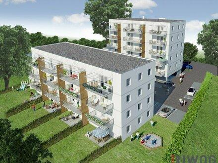 Sonnige 3-Zimmer-Wohnung mit Balkon