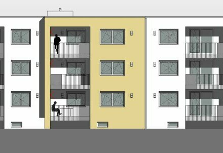 Moderne Mietwohnung Eberstalzell, Neubau, 3-Zimmer