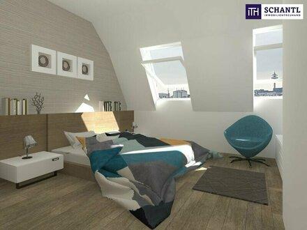 Riesen Terrasse! Future Living im Dachgeschoss + Ideale Raumaufteilung + Tolle Infrastruktur + Hofseitiger Balkon!