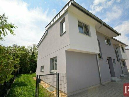 Grünruhelage Essling U2-Nähe Erstbezug: Doppelhaushälfte - provisionsfrei