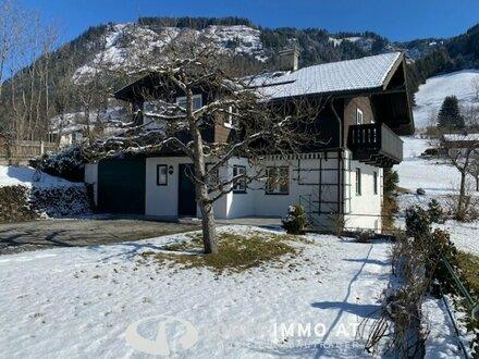 5751 Maishofen: Teilmöbliertes , gepflegtes Einfamilienhaus, 700m² Garten, absolute Ruhelage, Weitblick , großer sonniger…