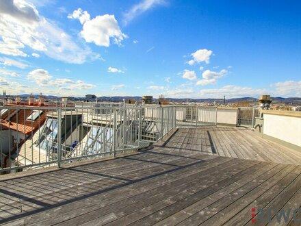 # STAYatHOME ++ The SKY is the Limit ++ 360°Grad Weitblick ++ Hochwertige DG-Maisonette (4 Zimmer) mit Dachterrasse (ca.…