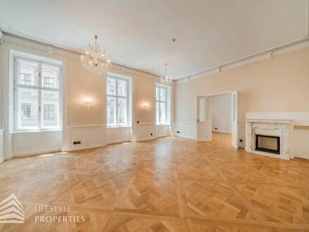 Luxuriöser 5-Zimmer-Altbauwohnung im Herzen der Innenstadt