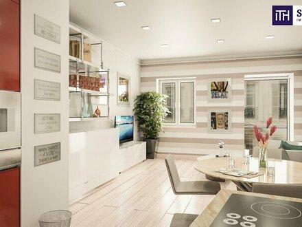 Perfekte City-Flat mit 2 Balkonen! TOP-Lage + Beste Infrastruktur + Ideales Konzept + Rundum saniertes, schönes Altbauhaus!…