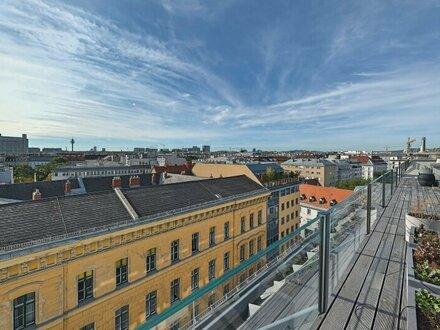 Design-Penthouse mit 3 Terrassen und Garagen-Option nächst Rochusmarkt!