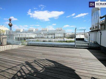 Ein Ort der Inspiration! Penthouse-Wohnung mit großer Terrasse!