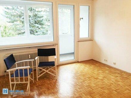 IM HERZEN DER HERRNAU | 2-Zimmer-Wohnung mit 67 m2 + verglaster Loggia