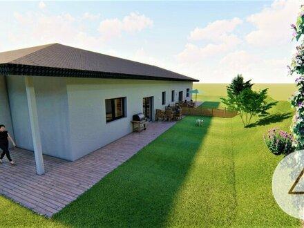 Traumhafte, sonnige Doppelhaushälfte in Bungalow-Stil