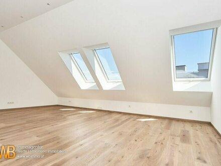Erstbezug! Möblierte DG Wohnung mit 78 m² + 9,60 m² Terasse !