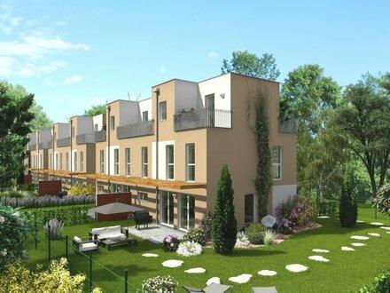Neue, wunderschöne, moderne Doppelhaushälfte mit unverbaubarem Fernblick