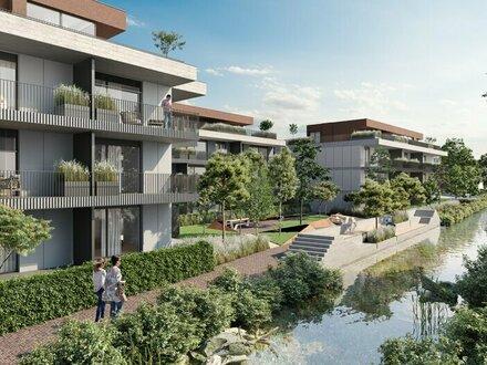 Exklusives Wohnprojekt - Neubau - Erstbezug nahe Laxenburg - mit Gärten oder Freiflächen - BEL AIR - Premium Garden Suites…