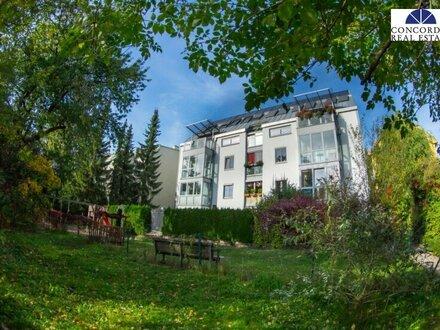 Nähe Aufhof Center - 2 Zimmer Eigentum mit Garten- und Terrassenbenützung