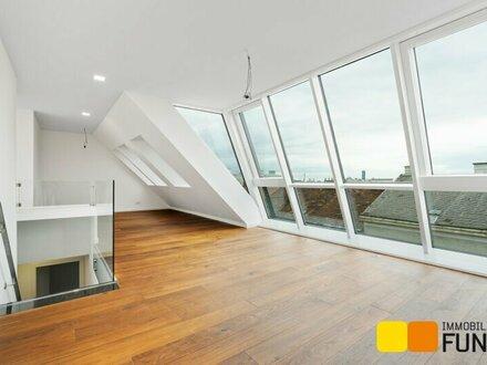 Hochwertige Dachgeschossmaisonette im Erstbezug, Terrasse auf Wohnebene