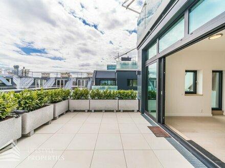 Exklusiver Erstbezug! Luxuriöse 5-Zimmer-Dachterrassenwohnung Nähe Stephansplatz