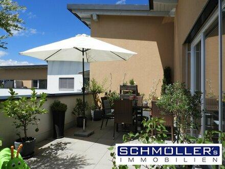 PROVISIONSFREI! Stilvolles Wohnen auf zwei Ebenen mit Dachterrasse und Gebirgsblick