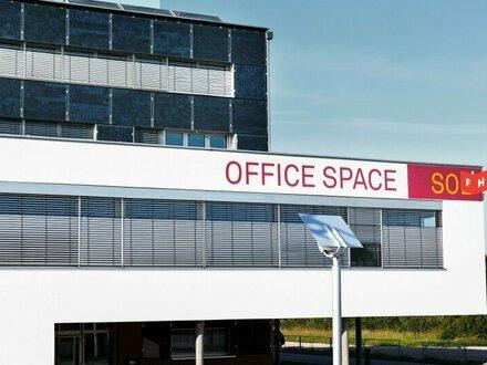 Vermietet wird ein großzügiges Büro im modernen Bürohaus Sol4