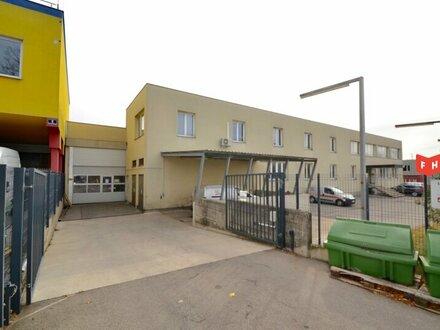 Betriebsliegenschaft mit Lagerhalle und Bürotrakt für Firmenniederlassung