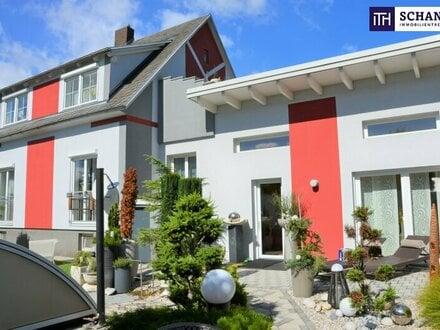 ITH: PERFEKT! Idyllisches STADTHAUS! + Hochwertige Ausstattung + Kamin + Riesiger Pool mit Überdachung + Uneinsehbarer Innenhof…