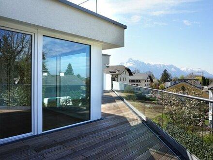 Exklusive Dachterrassenwohnung mit Blick auf die Festung und den Untersberg!